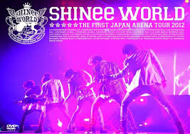 "SHINee THE FIRST JAPAN ARENA TOUR ""SHINee WORLD 2012"" (DVD) (Normal Edition)(Taiwan Version) DVD"