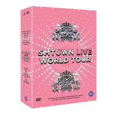 SMTOWN LIVE WOLRD TOUR IN SEOUL (5DVDS + SPECIAL PHOTOBOOK)
