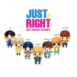 GOT7 SPECIAL EDITION 2 / JUST RIGHT (OUT CASE + FIGURE USB ALBUM) (YOUNGJAE VERSION)