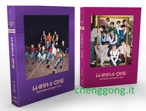 WANNA ONE Mini Album Vol.1 Repackage:1-1=0 (Nothing Without You) (Random Ver.)