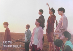 POSTER - BTS ALBUM VOL 3 - LOVE YOURSELF 'Tear' (Y Version)