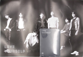 POSTER - BTS ALBUM VOL 3 - LOVE YOURSELF 'Tear' (O Version)