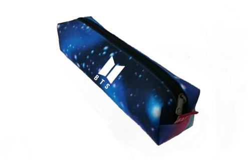 BTS - pencil case Blu