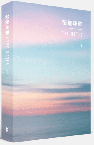 BTS Official Goods - 花樣年華 THE NOTES 1 (Korean)