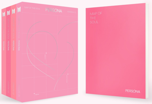 BTS - MAP OF THE SOUL : PERSONA ( Version 02)