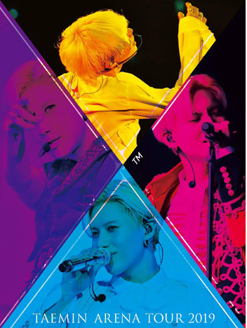 Taemin Arena Tour 2019 -XTM (DVD+PHOTOBOOK) (Limited Edition)