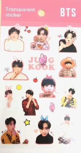 BTS - Transparent Sticker C ver.