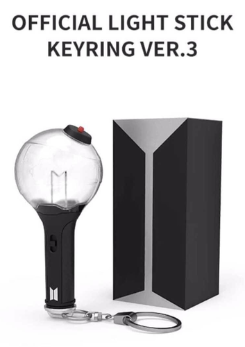 BTS Official LIGHT STICK KEYRING VER.3