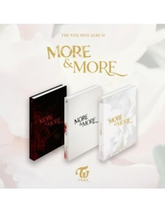 TWICE 9th Mini Album - MORE & MORE (B Ver)