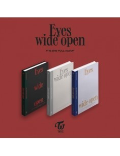 TWICE 2nd Album - EYES WIDE OPEN (Style Ver.)