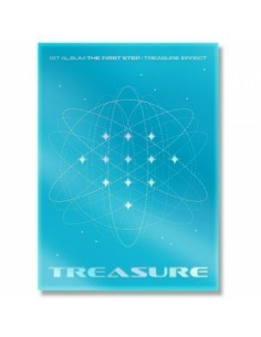 TREASURE 1st Album - THE FIRST STEP : TREASURE EFFECT (BLUE ver.)