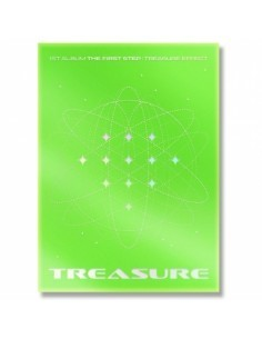 TREASURE 1st Album - THE FIRST STEP : TREASURE EFFECT (GREEN ver.)