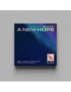 AB6IX 3rd EP Repackage Album - SALUTE : A NEW HOPE (New Ver.)